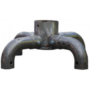 Чугунный распределитель воздуха (горелка) к котлам Буран