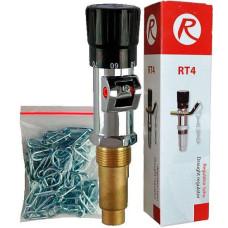 Механический регулятор тяги для твердотопливных котлов Regulus RT4